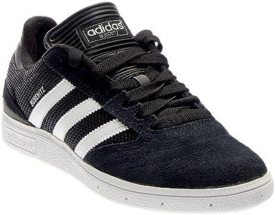 762a08a542501 adidas Skateboarding Men s Busenitz Pro Black White Silver Metallic Sneaker  7.5 D (M