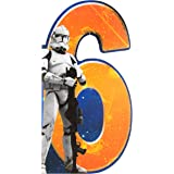 """Hallmark Star Wars 6th Birthday Card""""Fun"""" - Medium"""
