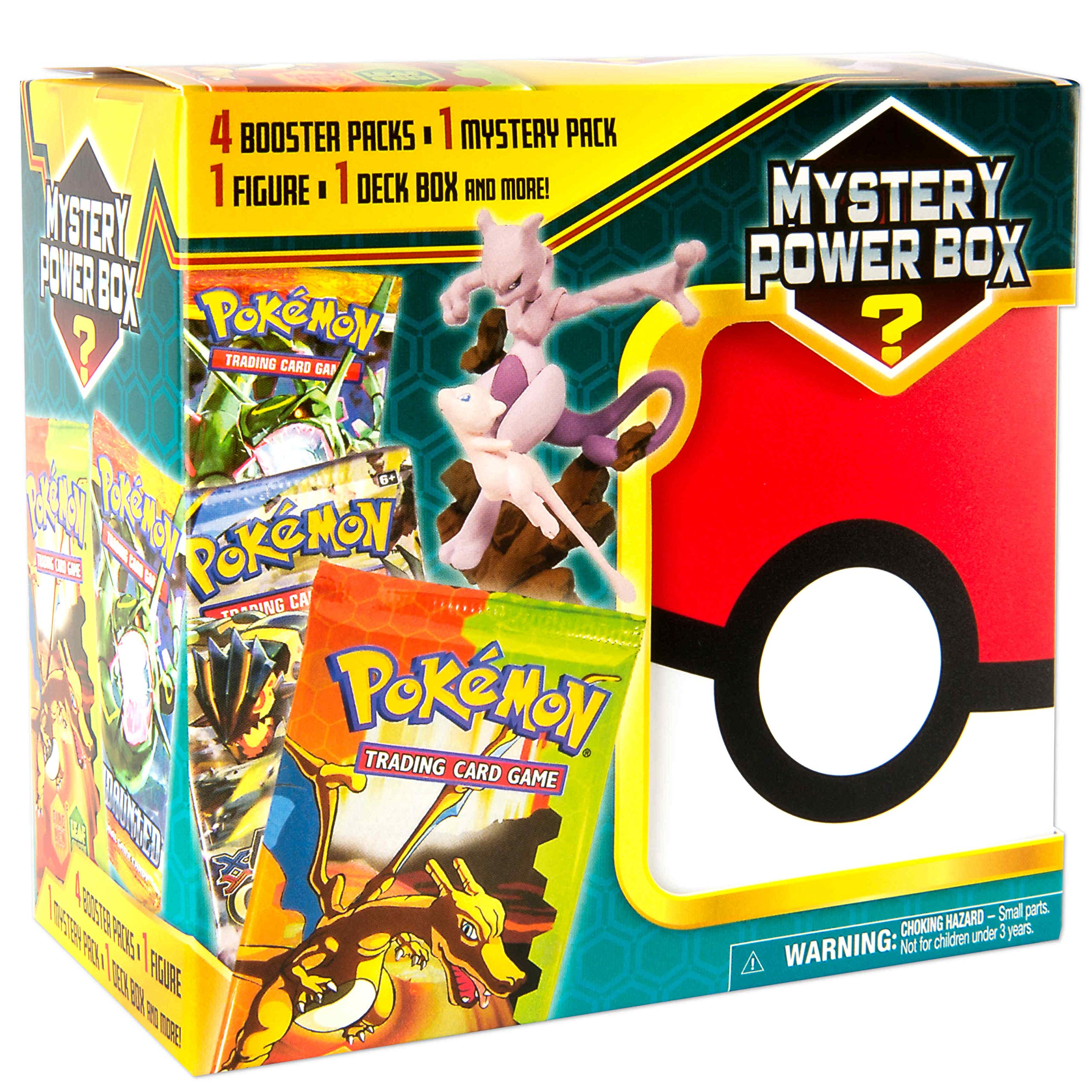 Pokemon Cards Mega Mystery 3 Box 4 Booster Pack 1 Ex Gx Foil Card