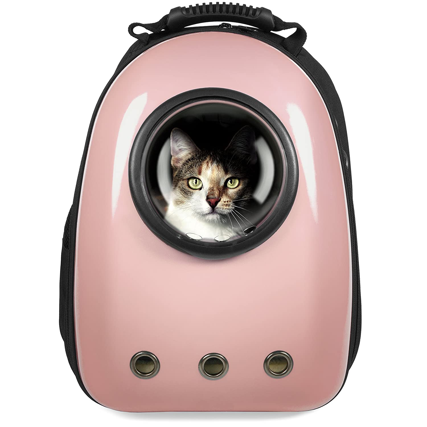 Best Choice Products Pet Carrier Space Capsule Backpack, Bubble Window Padded Traveler