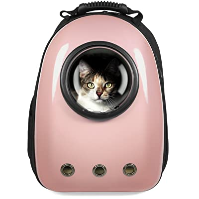 Best Choice Products Pet Carrier Space Capsule Backpack