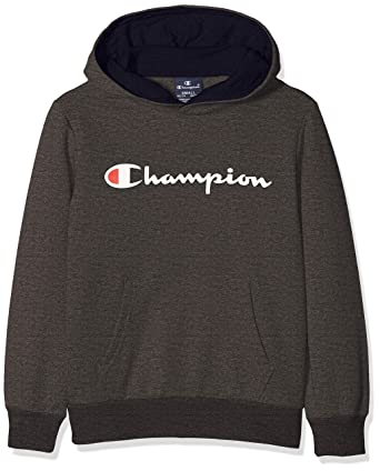 0c93fad3da92 Champion Boy s Hooded Sweatshirt Hoodie  Amazon.co.uk  Clothing