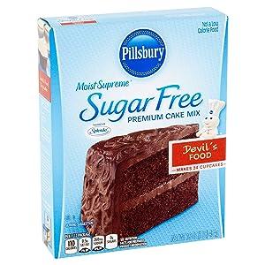 Pillsbury Moist Supreme Sugar Free Premium Cake Mix Devil's Food