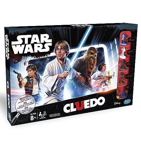 Hasbro Clue Game Star Wars Edition Ninos Y Adultos Juego De Rol