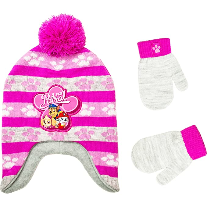 Image Unavailable. Image not available for. Color  Paw Patrol Infant  Toddler Girl Hat and Mitten Set 24ea83c30d5
