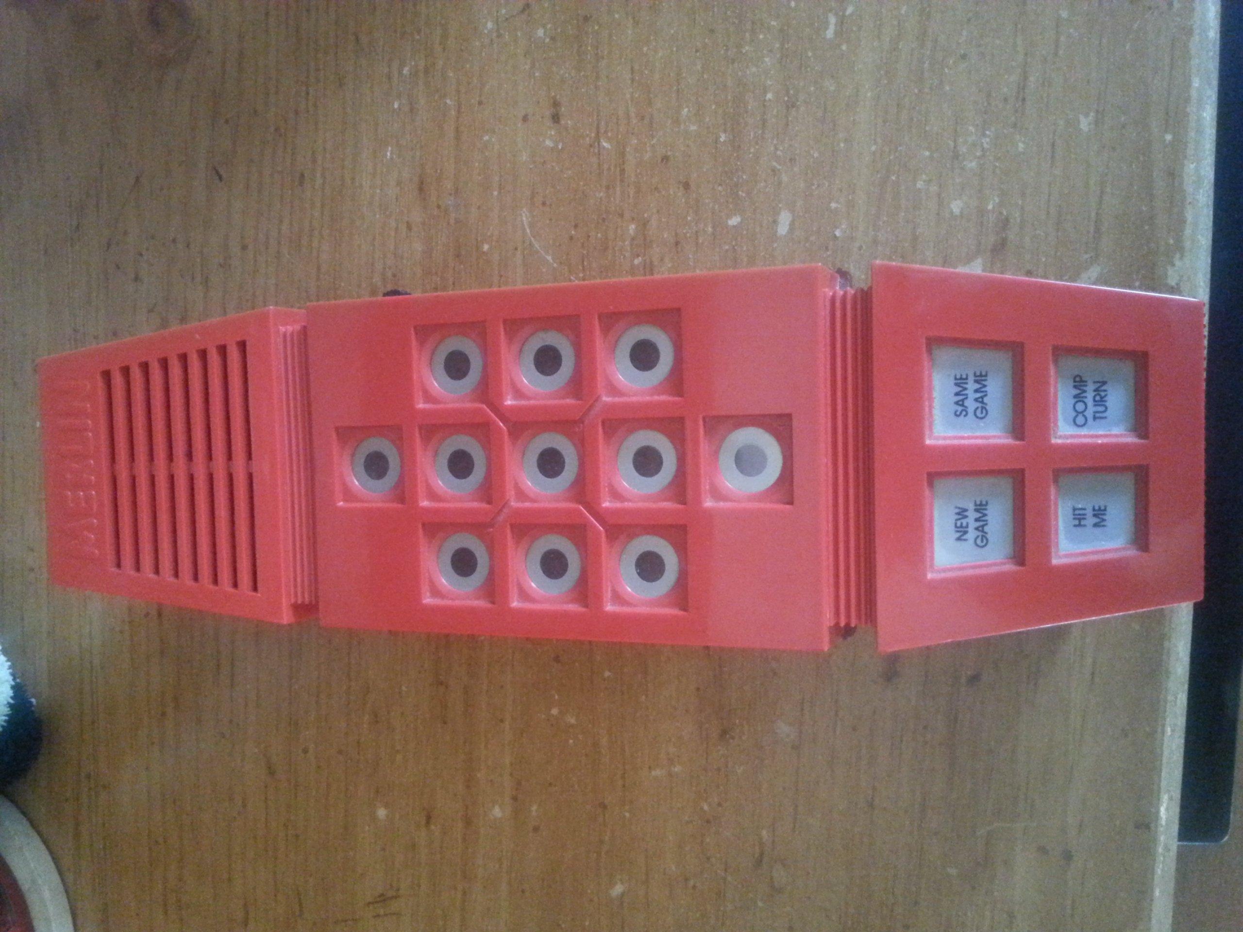 1978 Parker Brothers Merlin Handheld Game