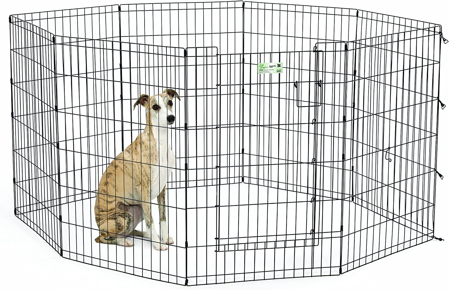 MidWest Homes for Pets LifeStages Exercise Pen Full MAXLock Door