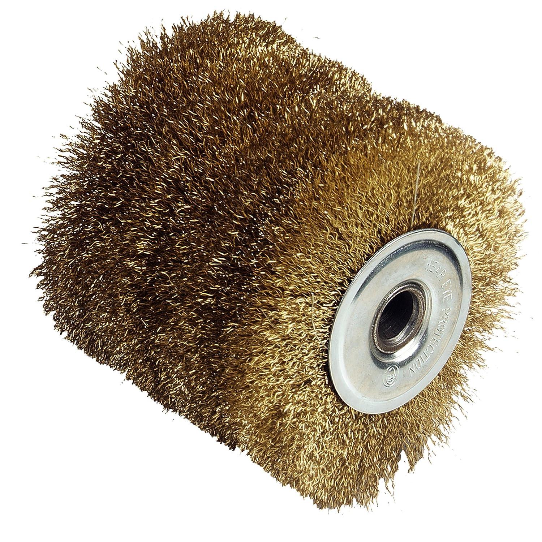 Fartools 110871 Brosse fil laitonné e pour ré novateur REX120 Diamè tre 120 mm