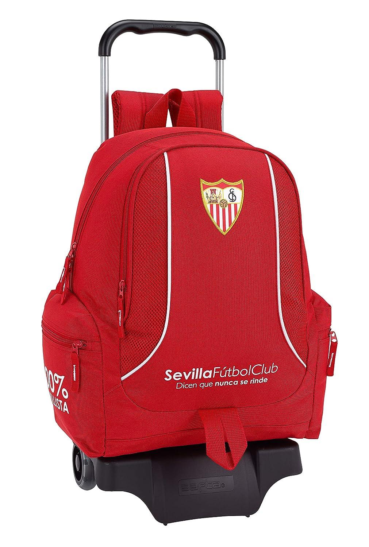 F.C. Sevilla 2018 2018 2018 Schulrucksack, 43 cm, Rot (Rojo) b88bee