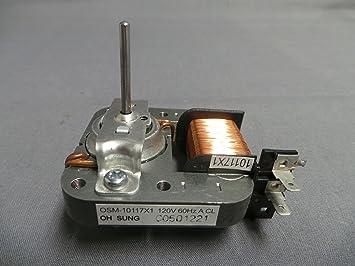 Haier mw-4550 - 26 microondas motor de ventilador: Amazon.es ...