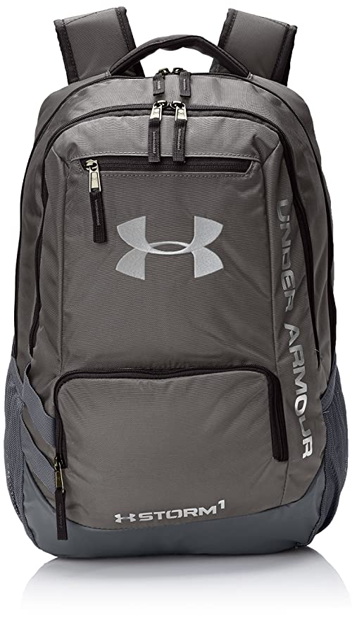 Under Armour Water Resistant Hustle Men s Outdoor Backpack available in  Grey - 31 Litres 0af75bba7b4b0