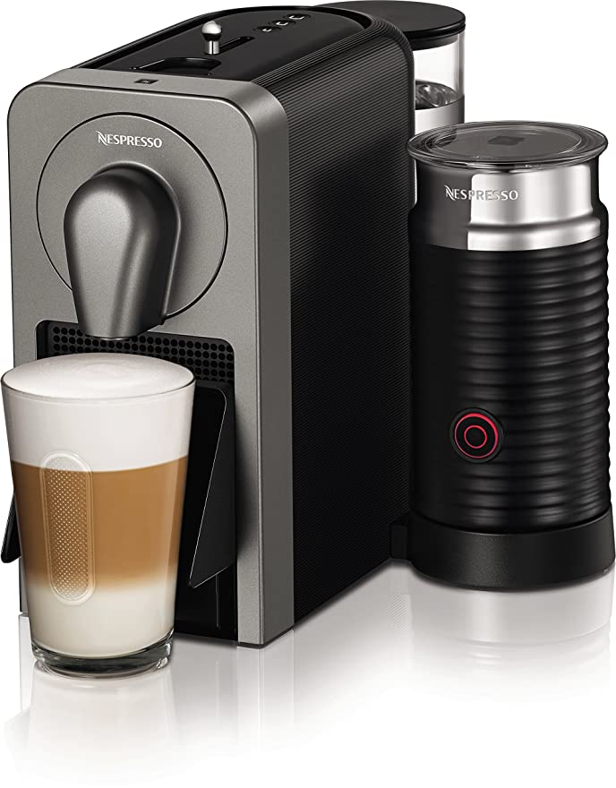 Nespresso Prodigio Coffee Capsule Machine with Aeroccino, 1260 W ...
