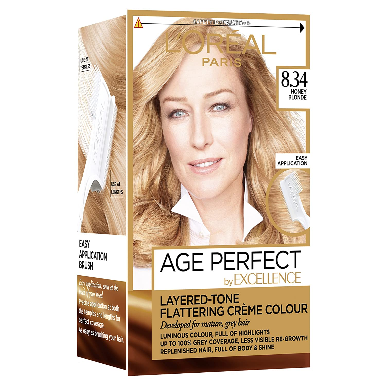 Loreal Excellence Age Perfect 7 31 Dark Caramel Blonde Hair Dye L