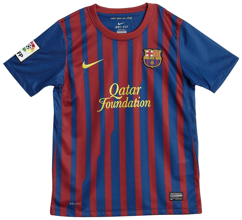 Nike FC Barcelona Home Jersey 2011 2012 Kids