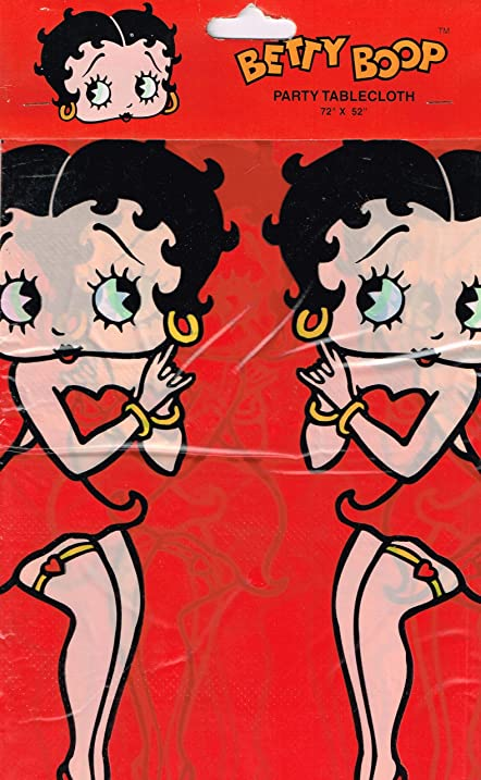 Charming Betty Boop Table Cover