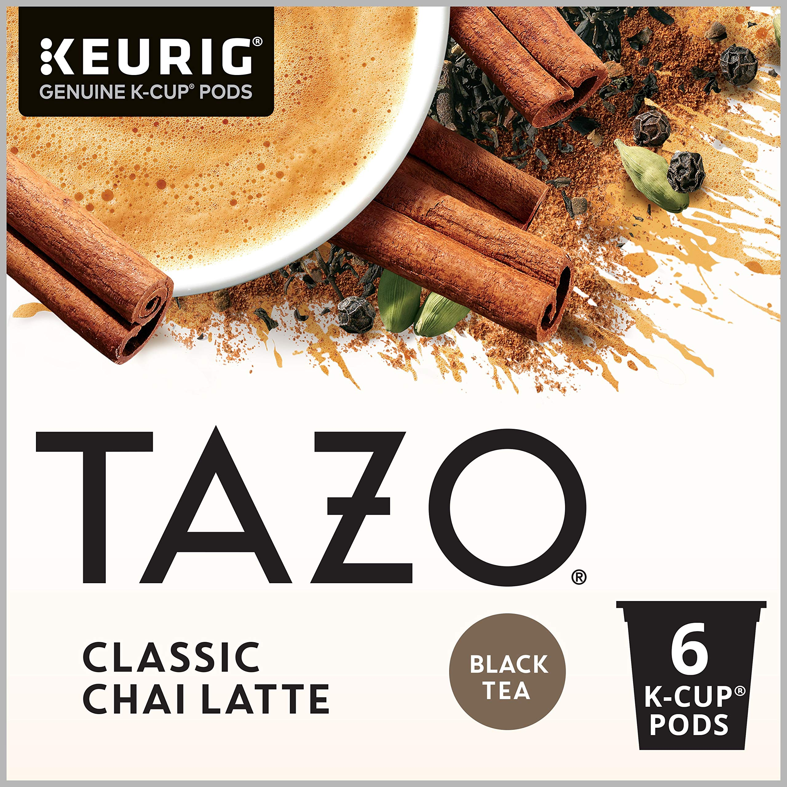 Tazo K-Cup for Keurig Brewers, Classic Chai Latte, 24 Count by Tazo