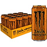 Java Monster Salted Caramel, Coffee + Energy Drink, 15 Ounce (Pack of 12)