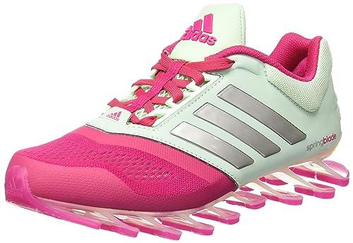 huge selection of e3389 26657 adidas Tennis para Mujer Springblade Drive 2, color Aqua Rosa, 24.5