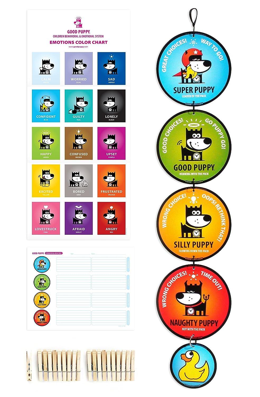 GOOD PUPPY Children Behavioral /& Emotional System Pack Hanging Set Go Gnomo GPCBSP0001