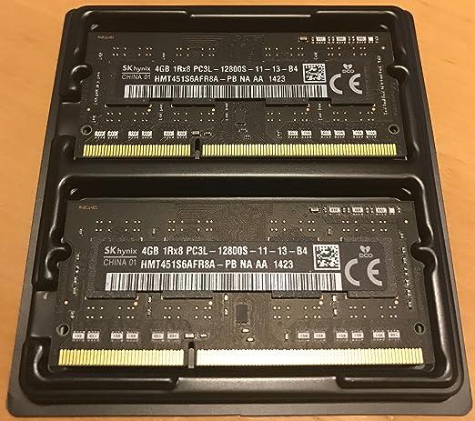 3 opinioni per HYNIX 1x 4 GB 204 pin DDR3L-1600 SO-DIMM (1600Mhz, PC3L-12800S, CL11, 1.35V,