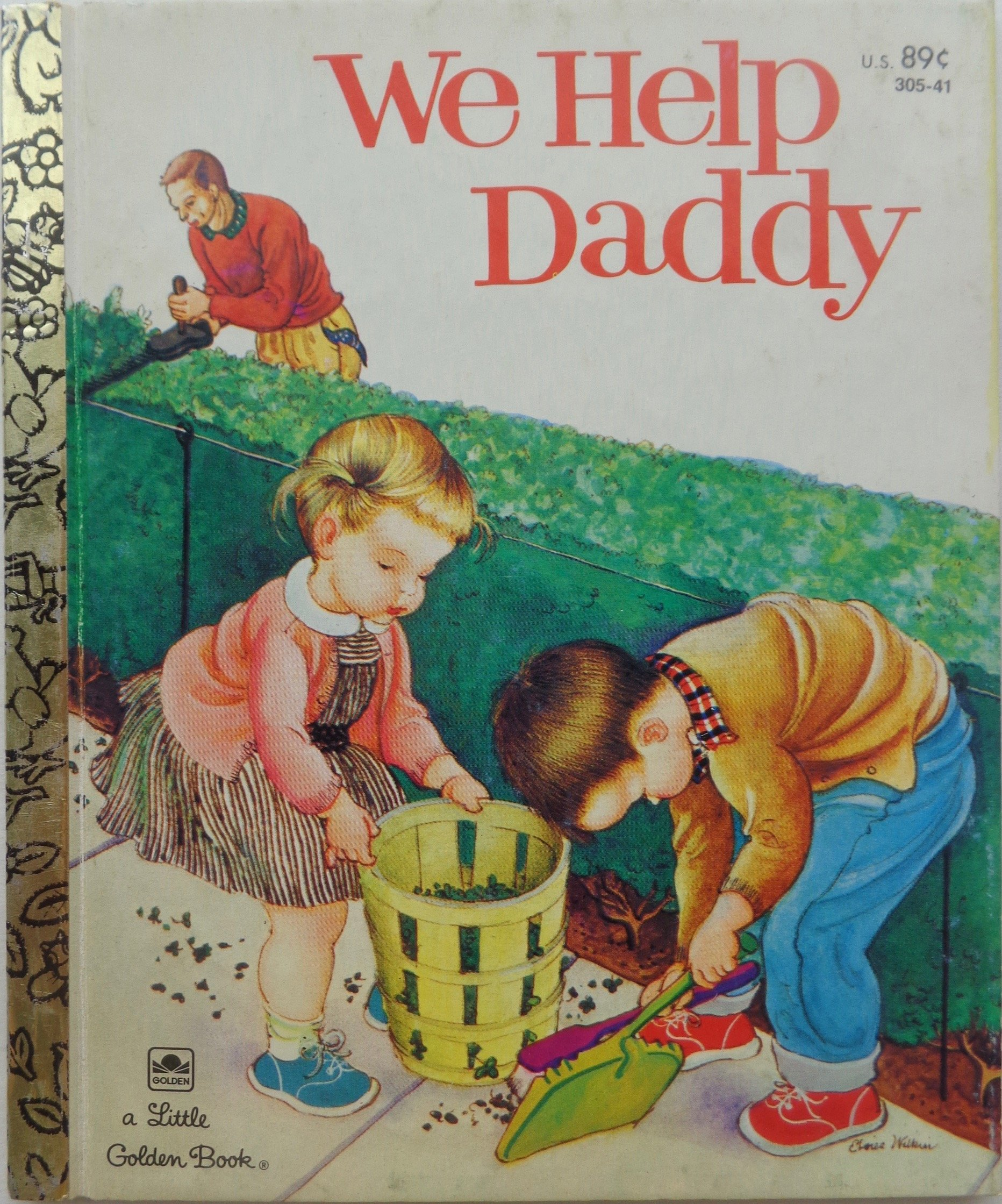 We Help Daddy (Little Golden Books) pdf