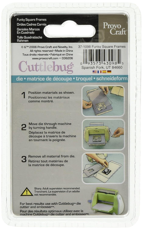 Amazon.com: Cuttlebug 3-Inch-by-3-Inch Die, Halloween