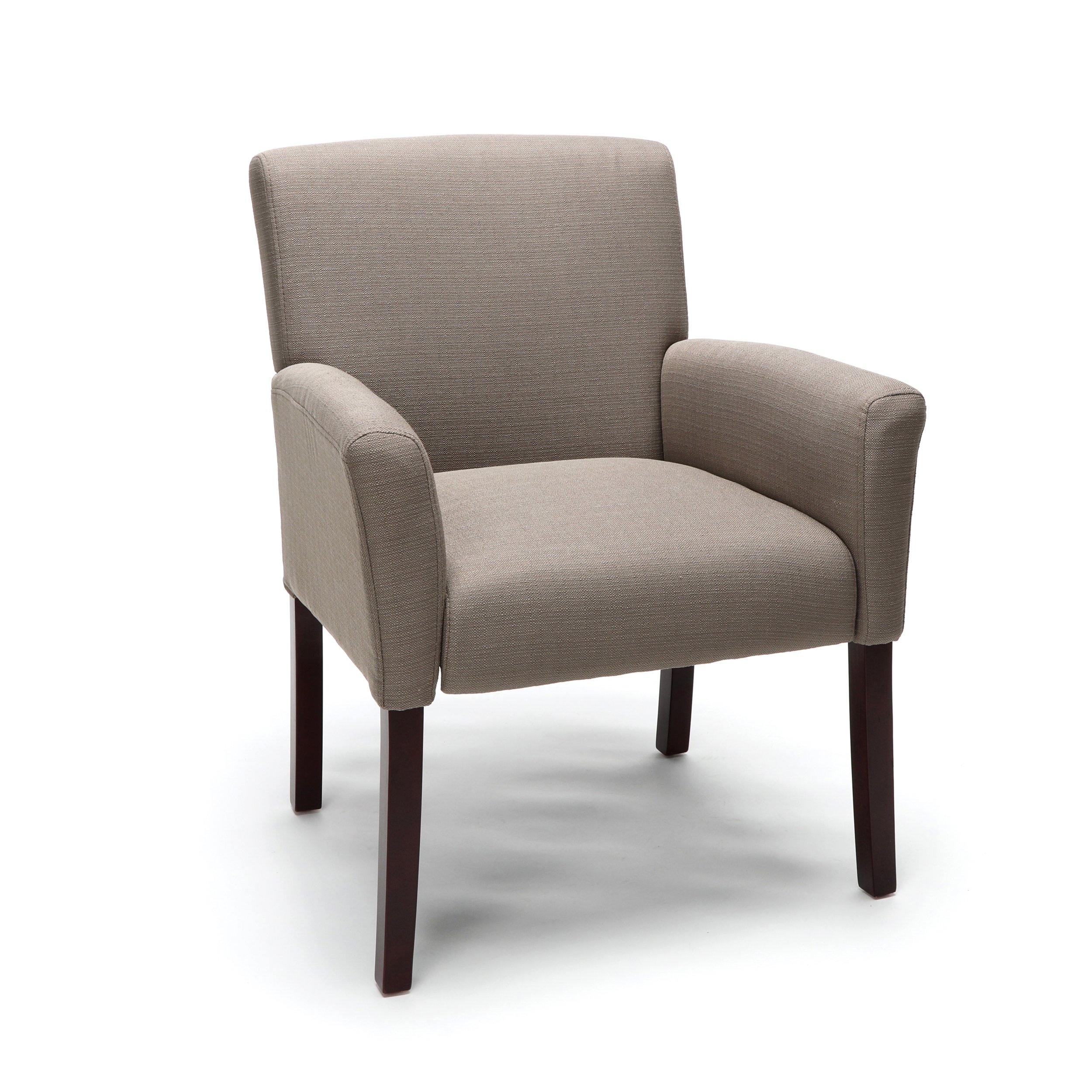 Essentials Executive Guest Chair - Upholstered Reception Chair with Arms by OFM
