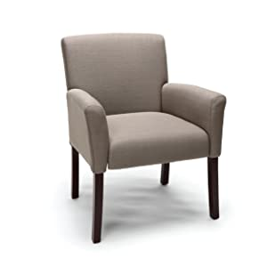 Essentials Executive Guest Chair - Upholstered Reception Chair with Arms