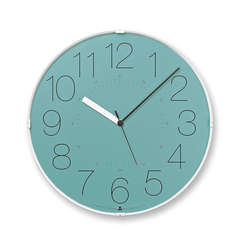 Lemnos CARA 電波時計 ブルー B00H8LJTG0ブルー