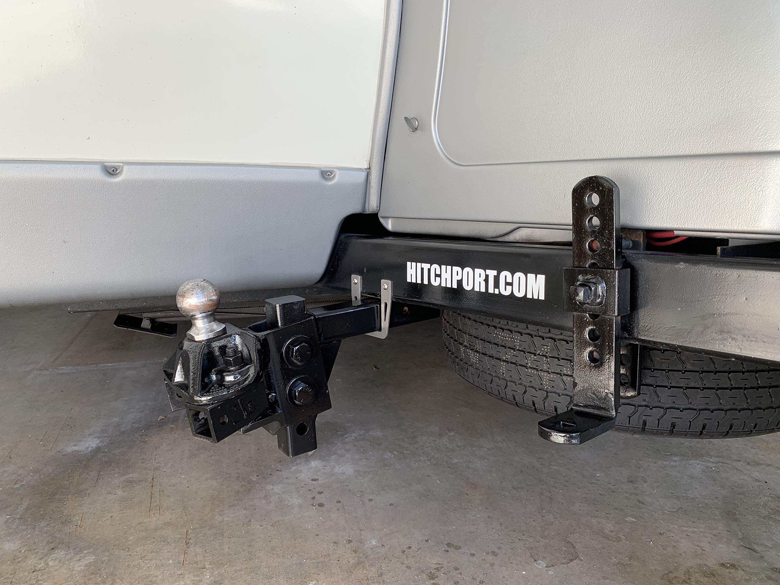 Hitchport Hitch Bar Storage Mount by Hitchport