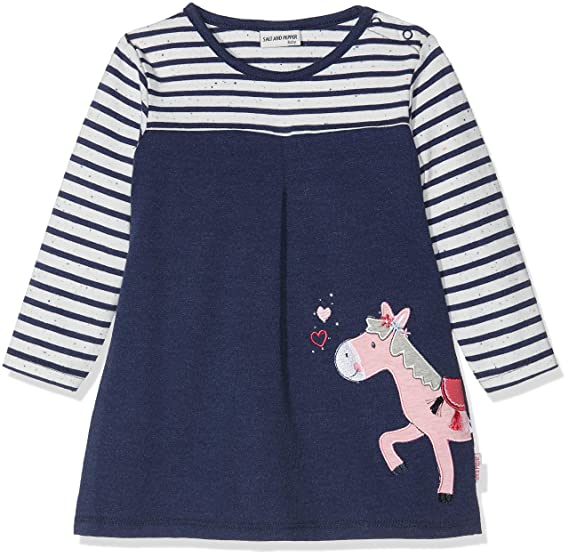 Salt And Pepper Baby Madchen B Dress Mon Amie Stripe Kleid