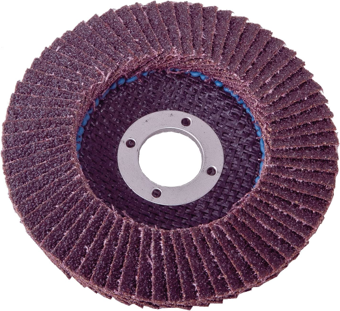 Type 29 Grit-120 Shark 45843 4.5-Inch by 5//8-11NC Zirconia Beveled Flap Disc