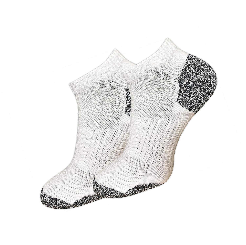 gepolsterte Sohle ohne dr/ückende Naht GAWILO 6 Paar Sport Sneaker Socken f/ür Damen und Herren ohne Gummibund