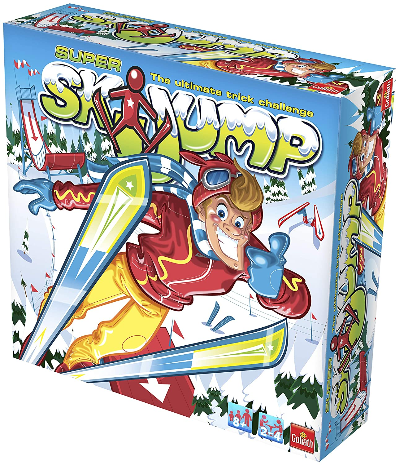 Goliath 70005 Game Can You Master The Slippery Slopes of The Super Ski Jump Drumond Park