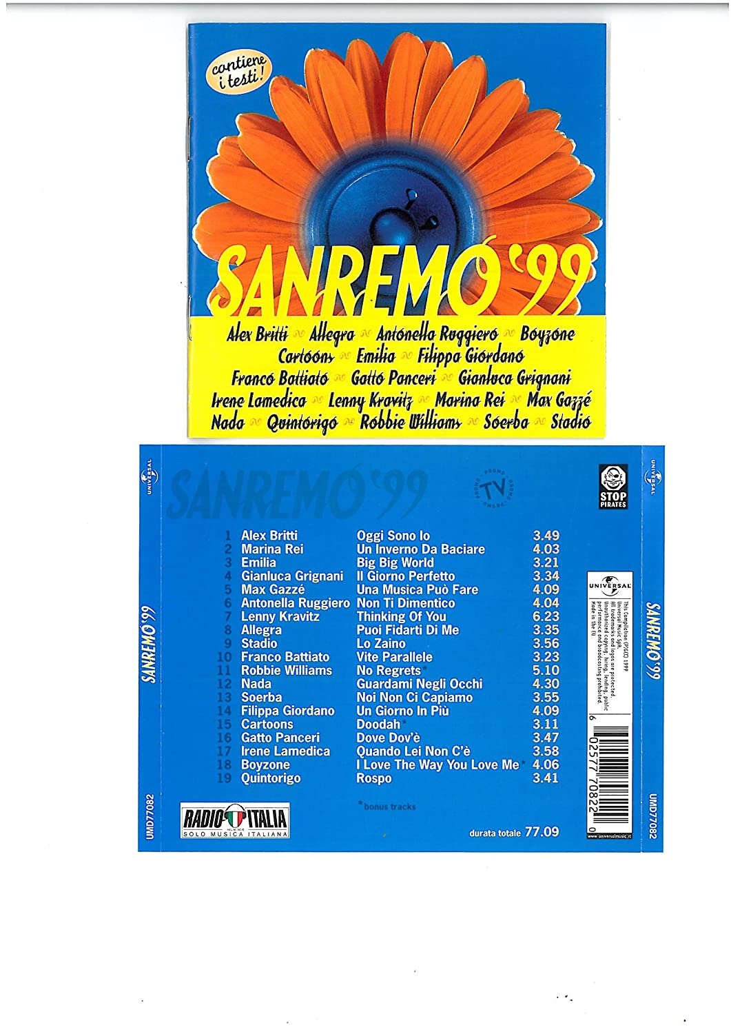 Sanremo Selling and selling Department store 99