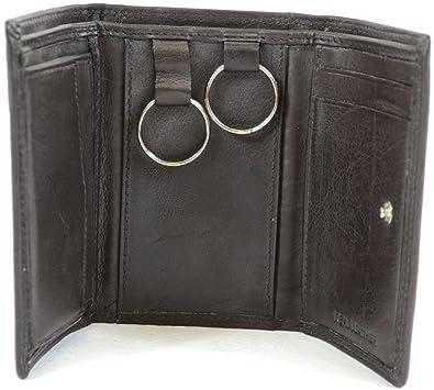 Amazon.com: Bolsillo de Piel Suave cartera/Cartera, llaveros ...