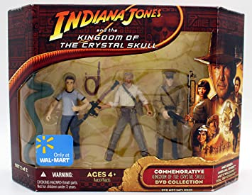 Indiana Jones Commemorative Indiana – Mutt Williams – Col.dovchenko 3 Figuras Set: Amazon.es: Juguetes y juegos