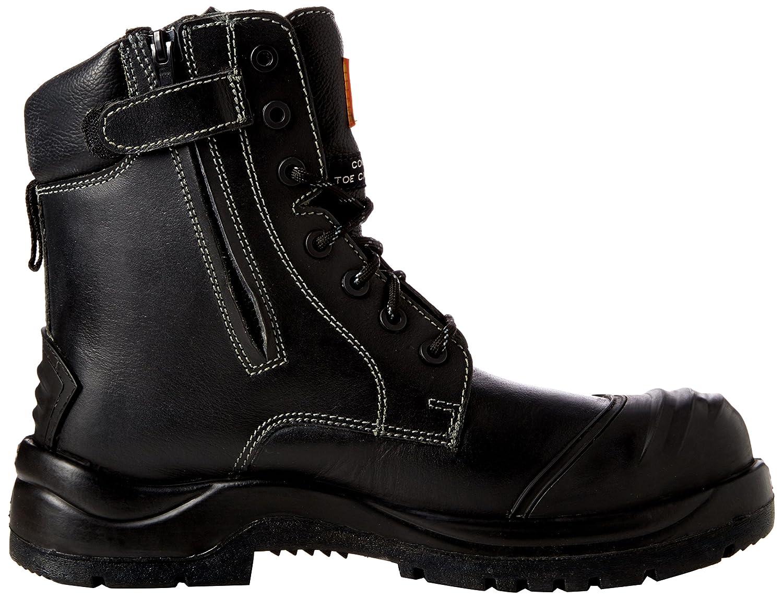 Unbreakable 8105 - Botas de seguridad de Cuero hombre, color Negro, talla 47 EU (13 UK): Amazon.es: Industria, empresas y ciencia