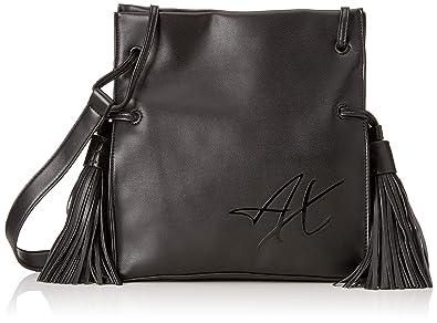 Armani Exchange Small Bucket, Cartables femme, Noir (Nero), 25.0x10 ... b056fb197be