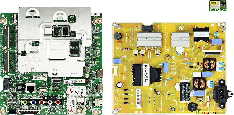 LG 49UJ6300-UA.AUS4LOR Complete LED TV Repair Parts Kit