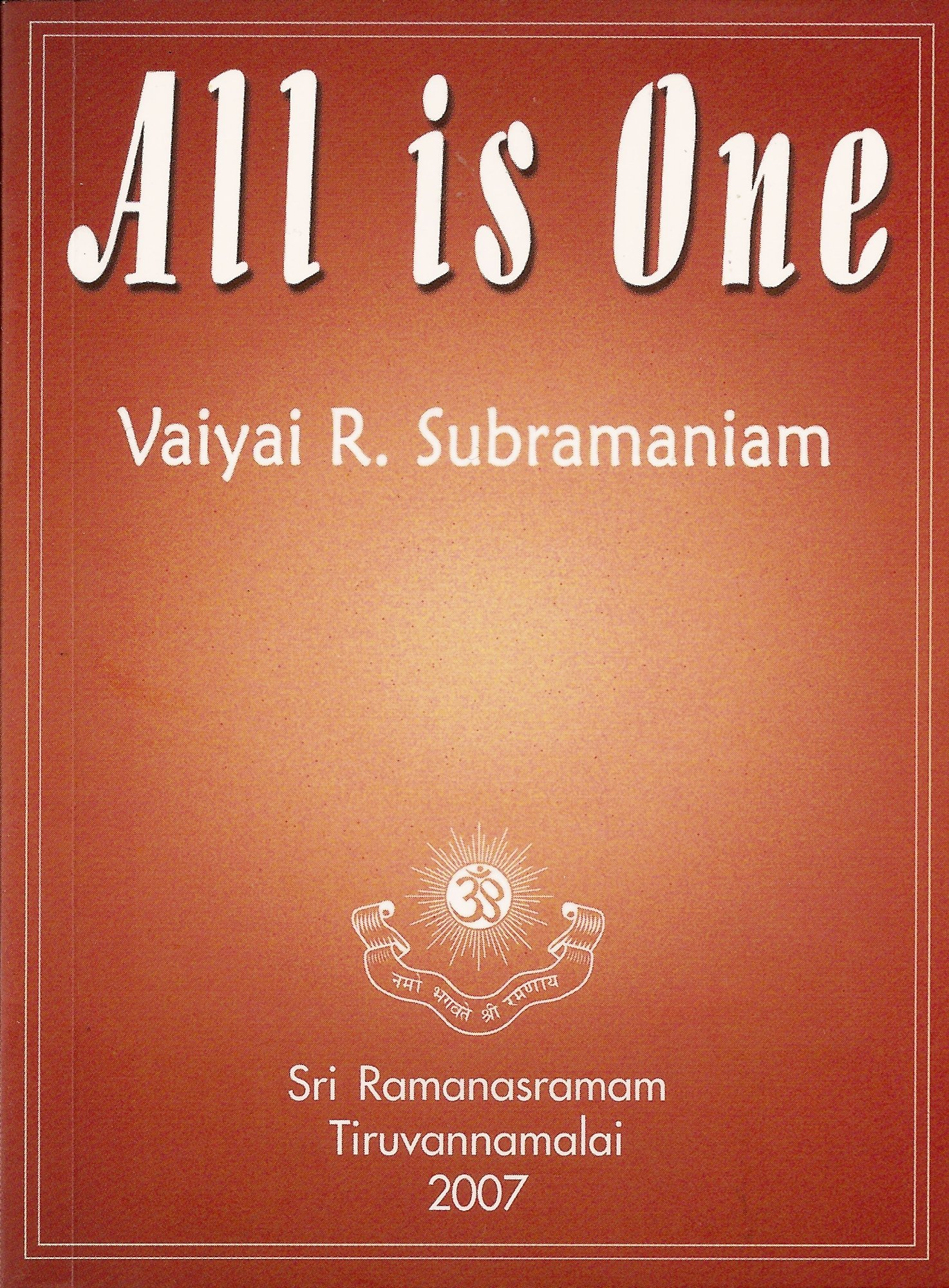 Read Online All is One ebook