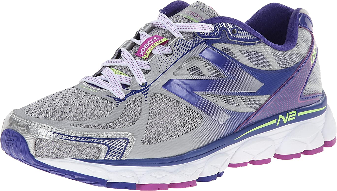 New Balance W1080 B V5 - Zapatillas de Running para Mujer, Color Grey, Talla 42.5: Amazon.es: Zapatos y complementos