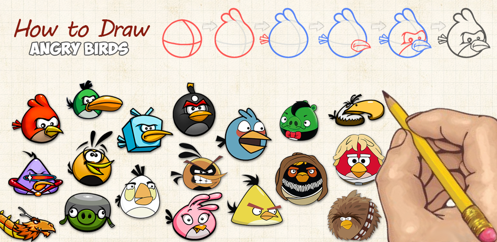 Amazon.com: How To Draw: Angry Birds: Appstore For Android