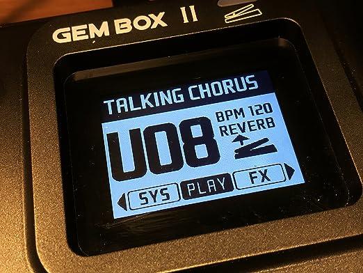 JOYO Gem Box 2 II - Pedal de efectos de guitarra con preajustes de metrónomo y tambores: Amazon.es: Instrumentos musicales