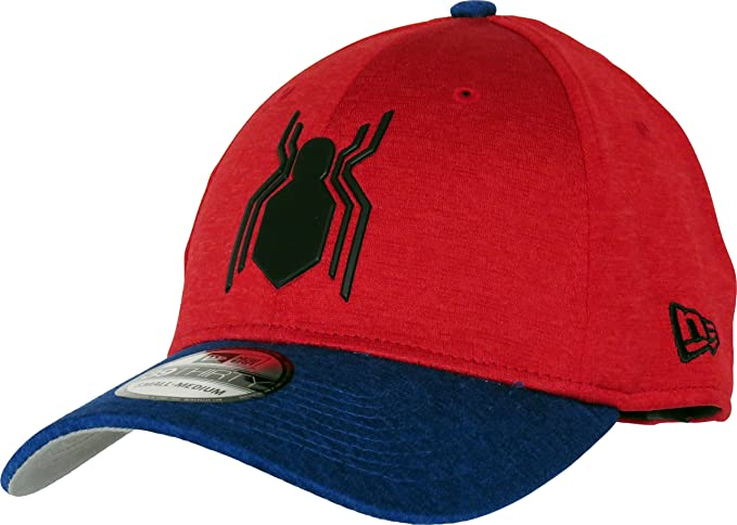 b0b3942e754 Spiderman Homecoming New Era 3930 Shadow Stretch Fit Cap (Medium-Large    57.7cm