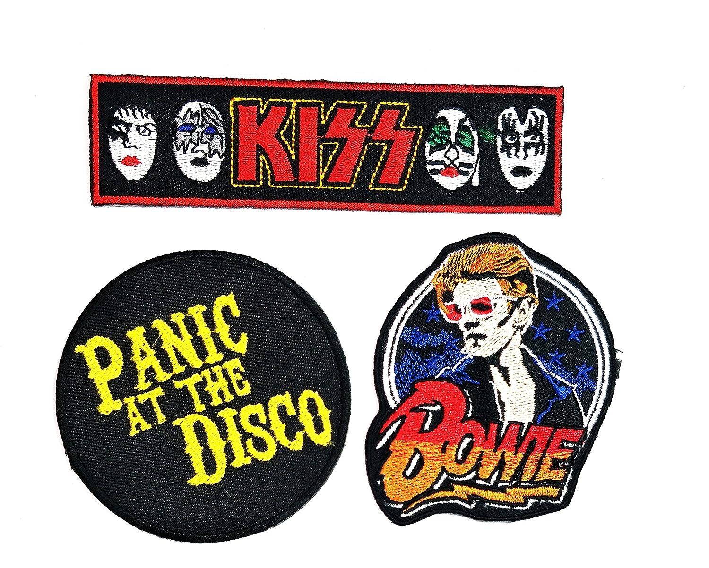 Juego de 3 piezas de parches de banda musical David Bowie Panic at ...