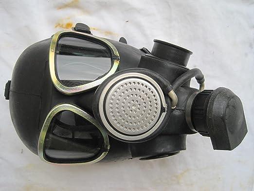 Máscara de broma de gas con filtro NVA, artículo de goma