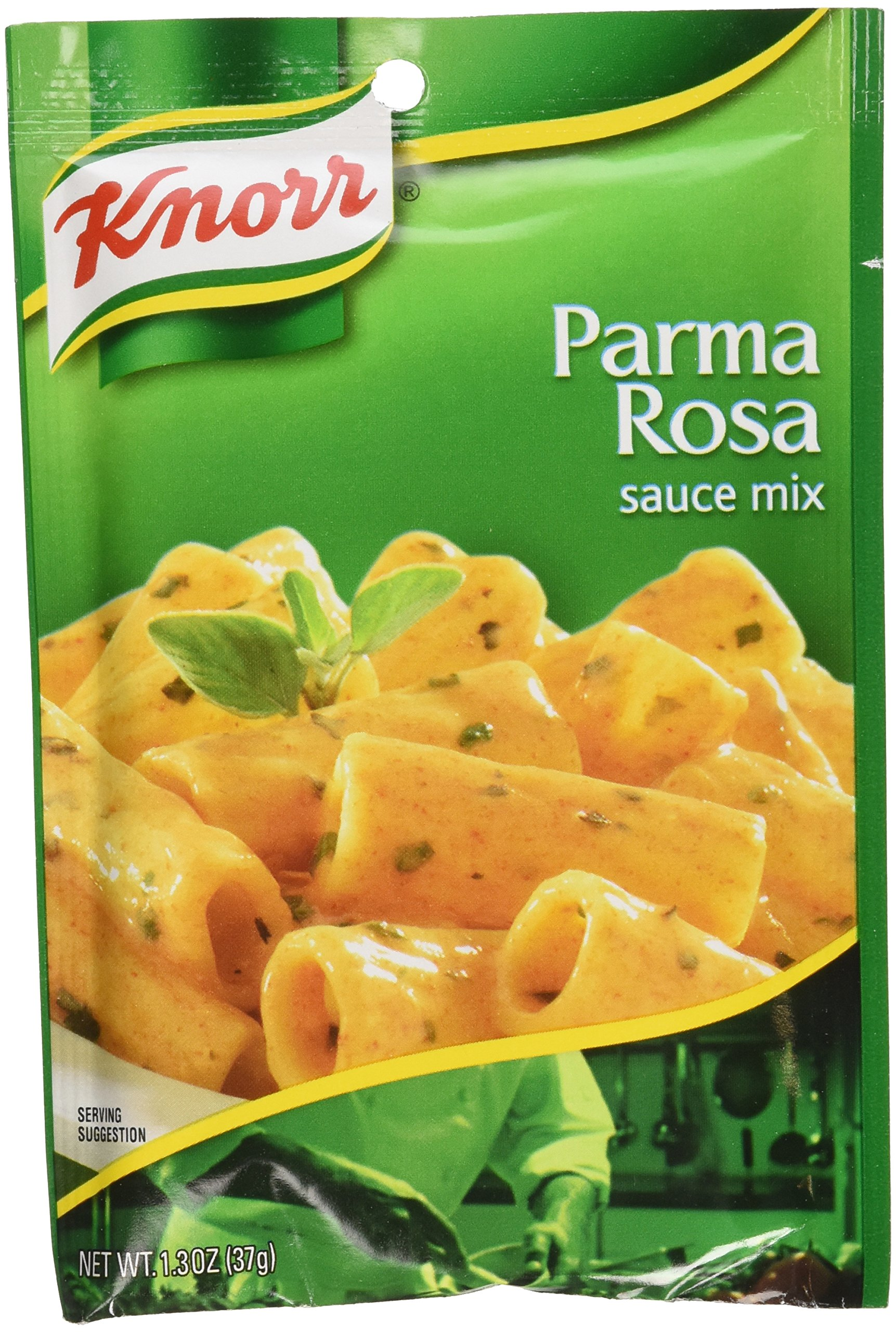 Knorr Pasta Sauces, PARMA ROSA Sauce Mix 1.3 Oz Packet (Pack of 6)