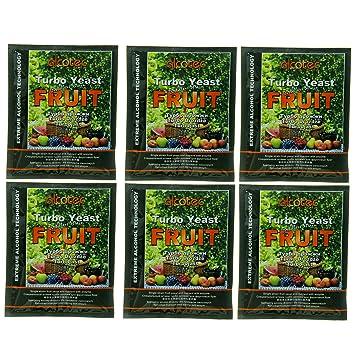 Alcotec Fruit Turbo Yeast (Pack of 6)