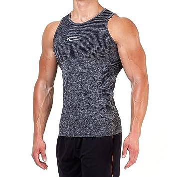 f4edb431dbec SMILODOX Tank Top Herren   Seamless - Muskelshirt mit Aufdruck für Sport  Gym Fitness   Bodybuilding